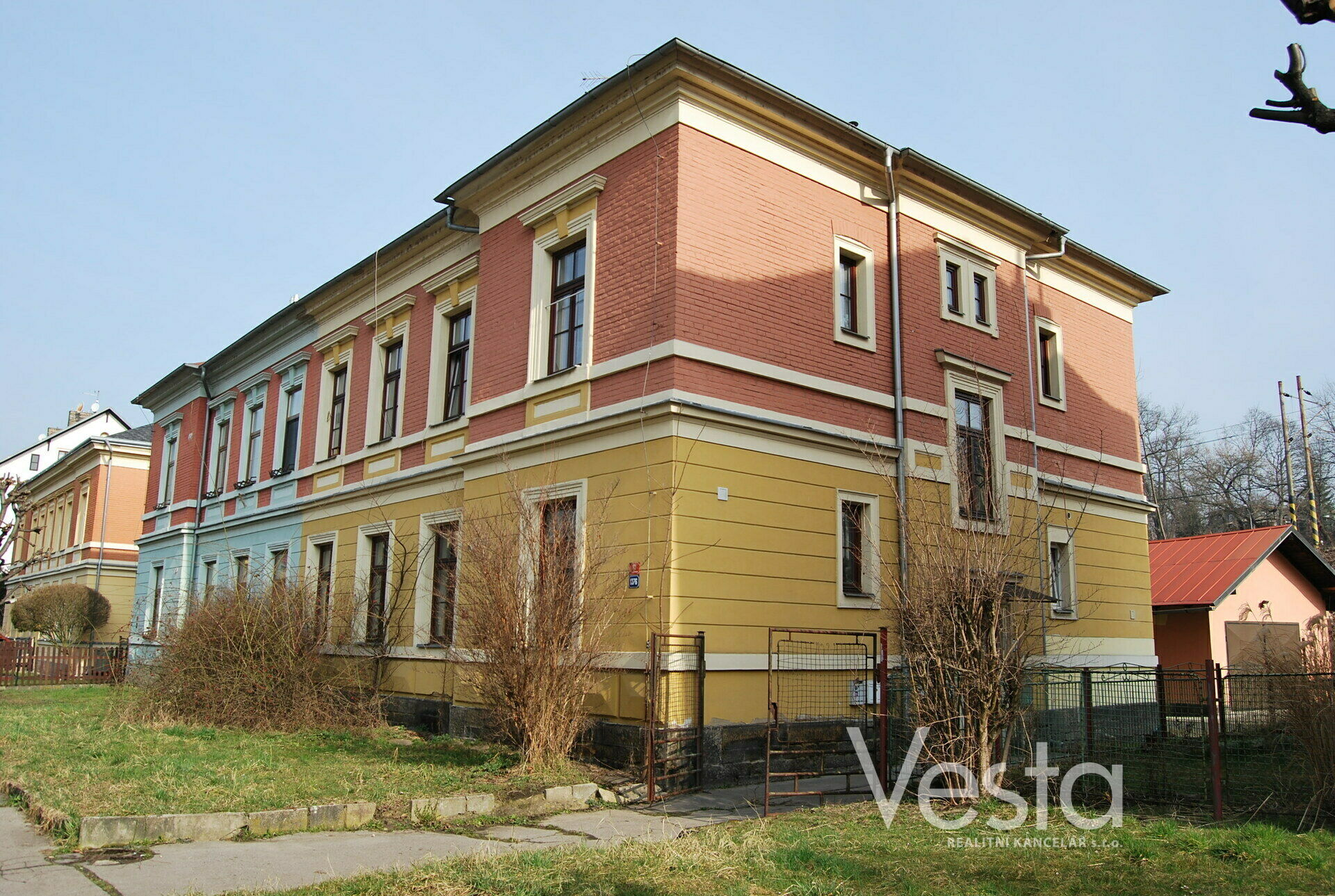 Atraktivní byt 2+1 v centru Děčína